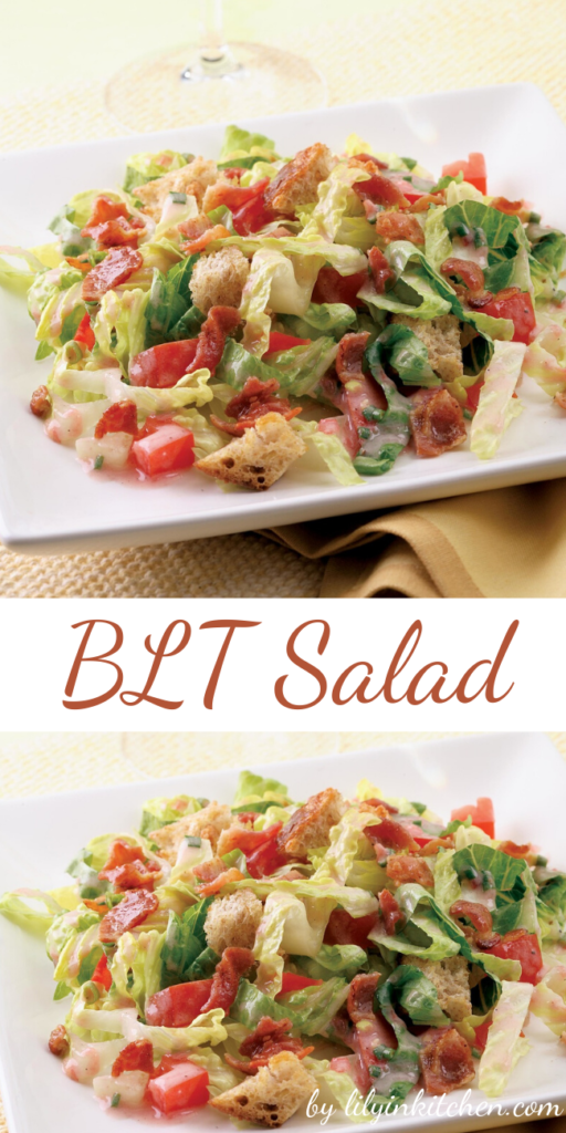 The whole family will love this BLT Salad. It's a quick and easy recipe based on the classic BLT sandwich.