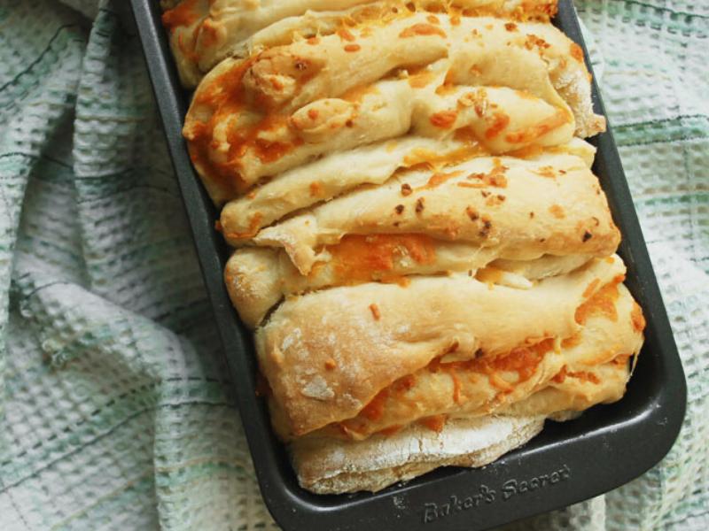 Cheesy Herb Pull-Apart Bread