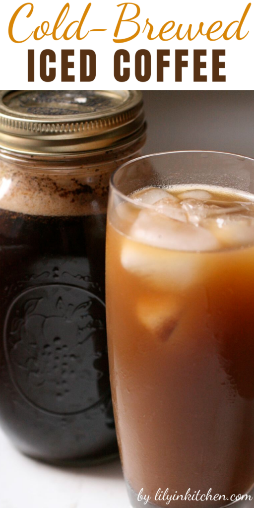 On a summer weekend morning, there's no better way to drink coffee than this Cold-Brewed Iced Coffee. No need to brew hot coffee and then chill it. None of the bitterness that iced coffee can sometimes produce.