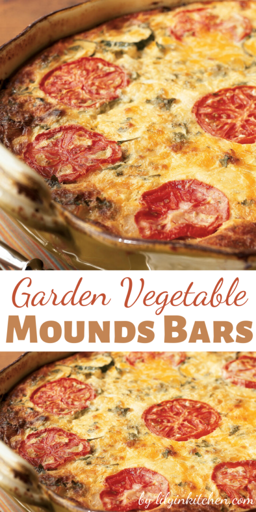 The season's best vegetables and a variety of cheeses make this Garden Vegetable Crustless Quiche a crowd-pleasing and healthy meal that can be assembled the night before, refrigerated and cooked just prior to serving.