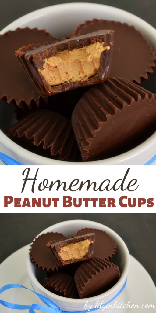 While there is SOME finesse required when attempting to make these Homemade Peanut Butter Cups…the recipe and method couldn't be easier!