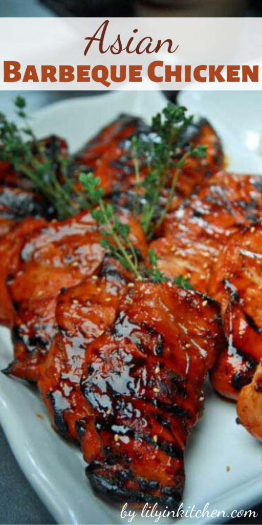 You are sure to surrender to the sweet aroma of this Asian Barbeque Chicken being cooked in an open fire.