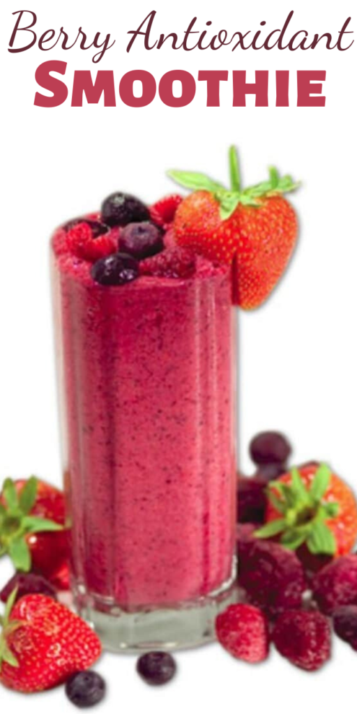 Kick start your morning with a great tasting smoothie full of antioxidants that will boost your energy throughout the day!