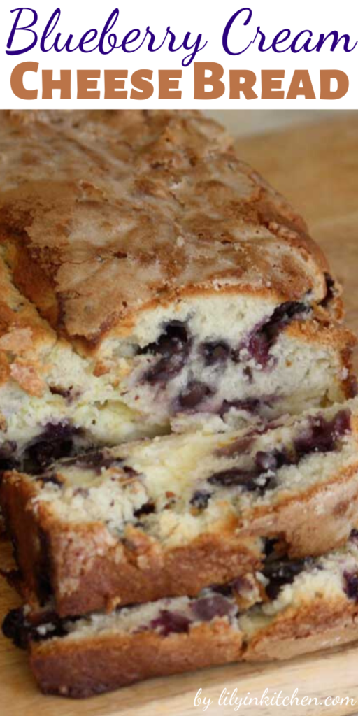 The blueberry cream cheese bread came out fantastic. Honestly. Just look at those pictures. It was also delicious and moist