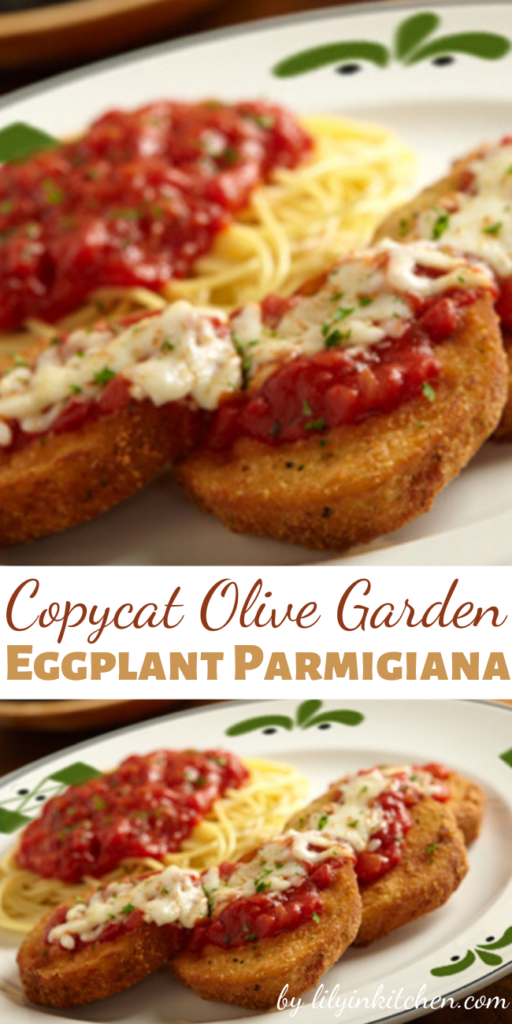 Recipe for Copycat Olive Garden Eggplant Parmigiana – An Italian staple, Olive Garden's eggplant parmigiana is a wonderful take on the ageless time piece.