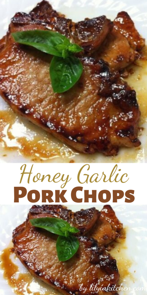 You'll love the robust taste of these tender honey garlic pork chops, and they are ready with a quickness! The honey and garlic sauce is so good, I sometimes double it so there's extra for dipping.