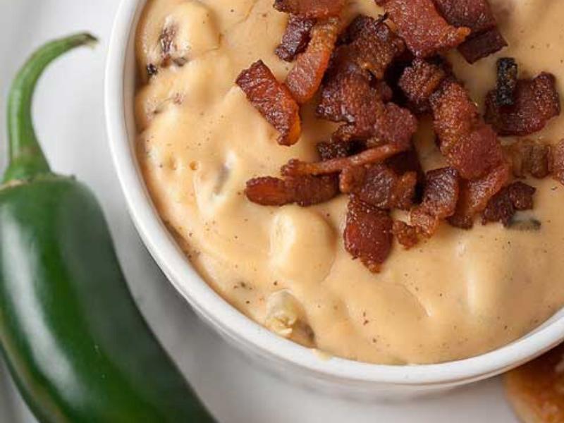Jalapeno Bacon Queso Dip