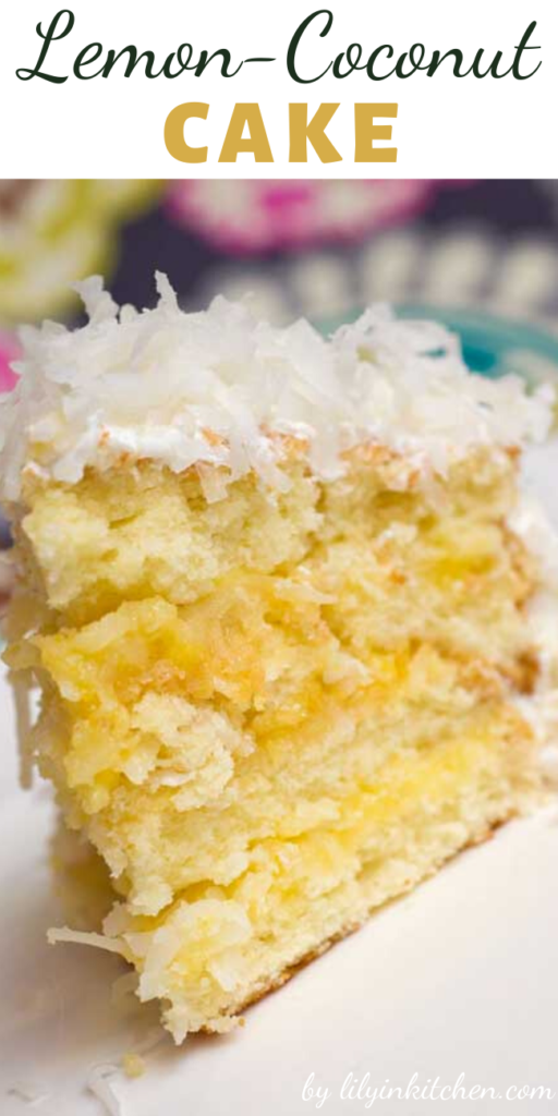 The citrusy note of this Lemon-Coconut Cake, along with it's perfect texture…I am starting to drool just thinking about it!