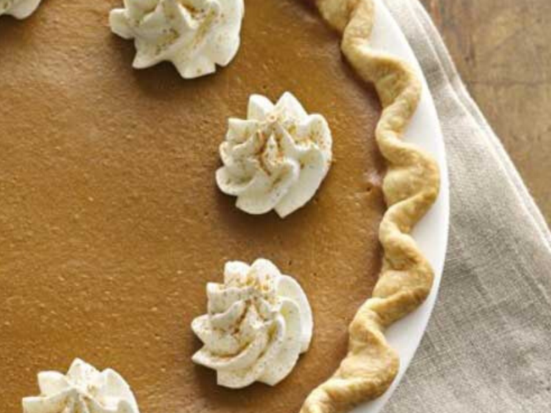 Pumpkin Spice Latte Pie