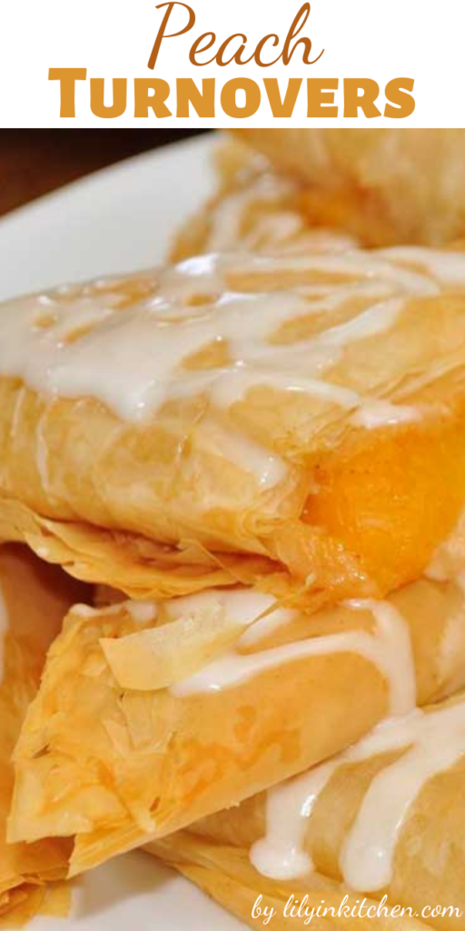 Once you make these Peach Turnovers and see just how easy they are to put together, they will become your go-to breakfast-to-impress. They can also double as dessert.