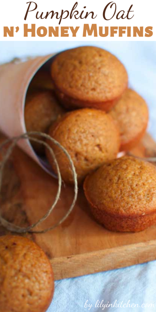 I'm not going to lie and say that these Pumpkin Oat n' Honey Muffins are the prettiest muffins you've ever seen. But they are among the tastiest; moist, tasty, and something I feel good about feeding my family.