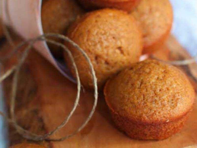 Pumpkin Oat n' Honey Muffins