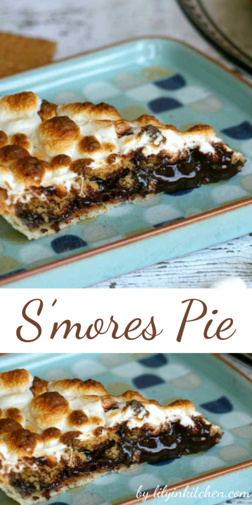 Summer is the season on S'mores, and this S'mores Pie has every amazing element of the classic summer treat all inside a homemade pie crust!