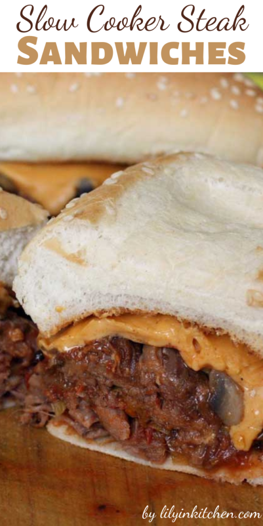 Give your Philly a little Mexican kick in the flavor department with this recipe for Slow Cooker Steak Sandwiches. You may just not be able to eat just one!