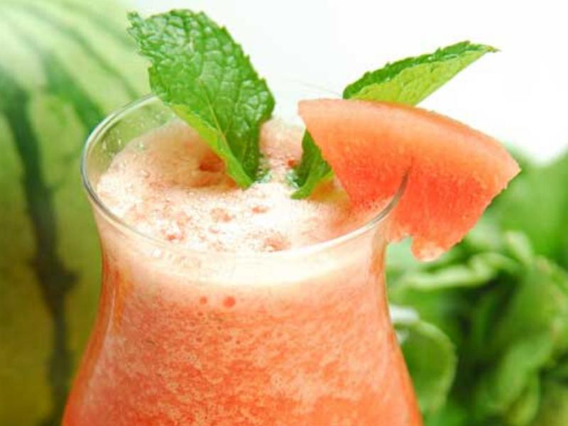 Watermelon and Lemon Slush