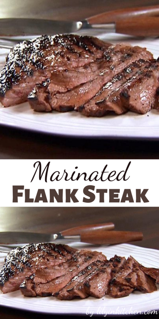 Recipe for Marinated Flank Steak – This is so yummy! It is also pretty easy, and even more, everyone loves it.
