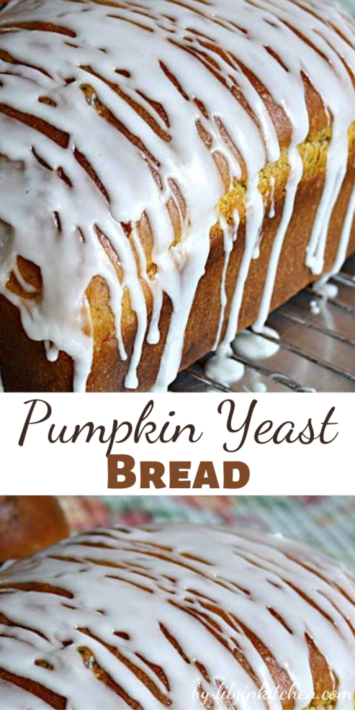 Recipe for Pumpkin Yeast Bread – At our house this pumpkin bread tends to just disappear, and while it's baking your house will smell like a cozy autumn afternoon.