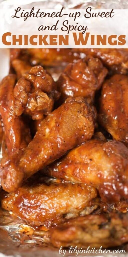 Wings are easy to make at home, and baking them in the oven cuts down on the fat and grease. Impress your friends with our Lightened-up Sweet and Spicy Chicken Wings.