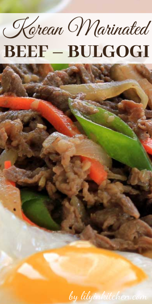 Recipe for Korean Marinated Beef – Bulgogi – Bulgogi is one of the most loved Korean dishes in the world. It is pretty easy to make and all ingredients are easy to find in any grocery store.