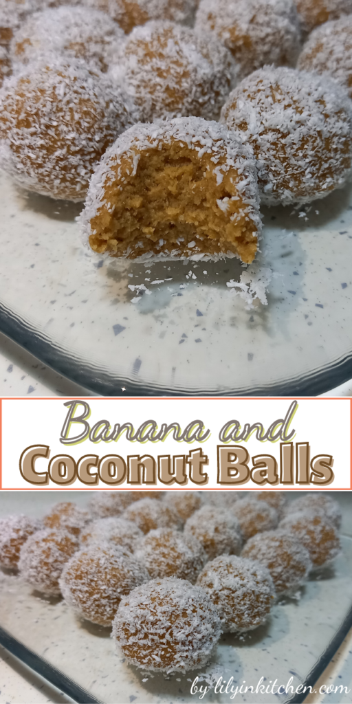 The easiest recipe I have made in just 15 minutes. For an energy boost during the day, pack these little banana snack balls into your work lunch box. All you need is 3 ingredients and your family will be delighted.