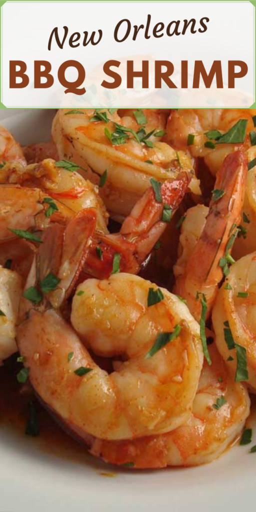 I have no idea why they call it BBQ shrimp but I don't care. It's freakin good, it's super easy to prepare, and makes a great appetizer!